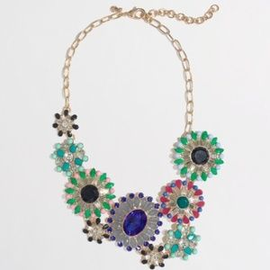 J. Crew Factory Stone Bloom Necklace